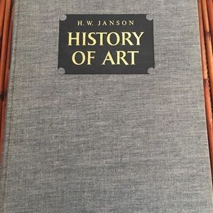 1964 FifthPrint H.W.Jansen History of Art hardback
